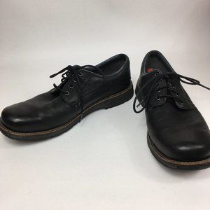 Merrell Casual Dress Shoes Black Leather Size 14